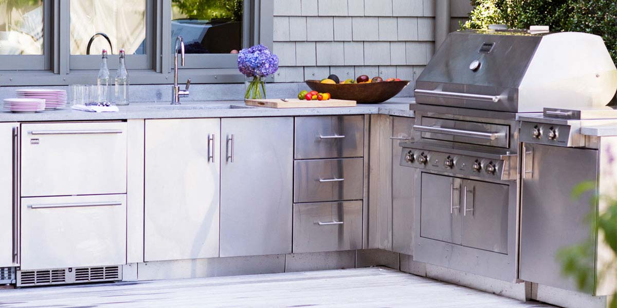 Photos of Outdoor Kitchen Cabinets stainless steel outdoor kitchen cabinets