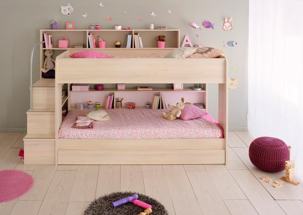 Photos of Parisot Bebop Acacia Bunk Bed - Childrens Funky Furniture - 1 funky childrens bedroom furniture