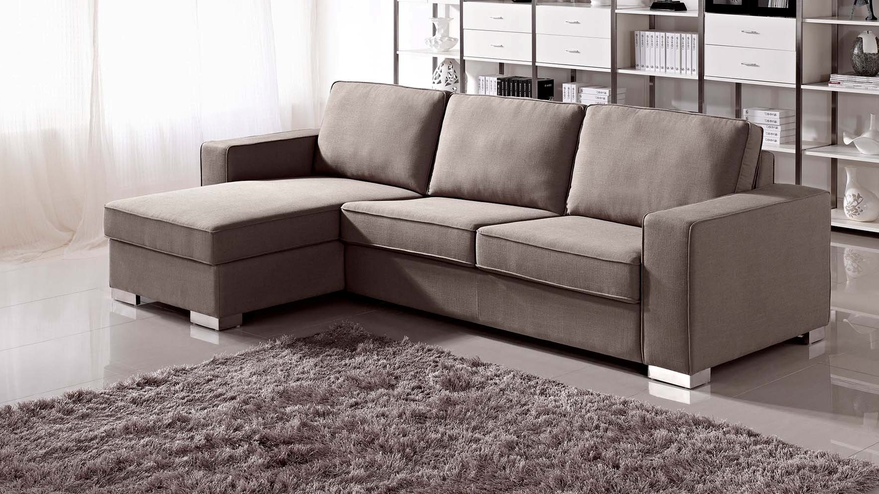 Photos of ... Sofa Bed Ikea Chloe Brown Sleeper Sectional Sofa Free Brown Fabric Sectional sofa bed sectional