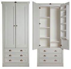 Photos of u0027Introducing Milestone Kitchens Free Standing Wardrobes. The 2 Door  Wardrobe with 3 bespoke free standing wardrobes
