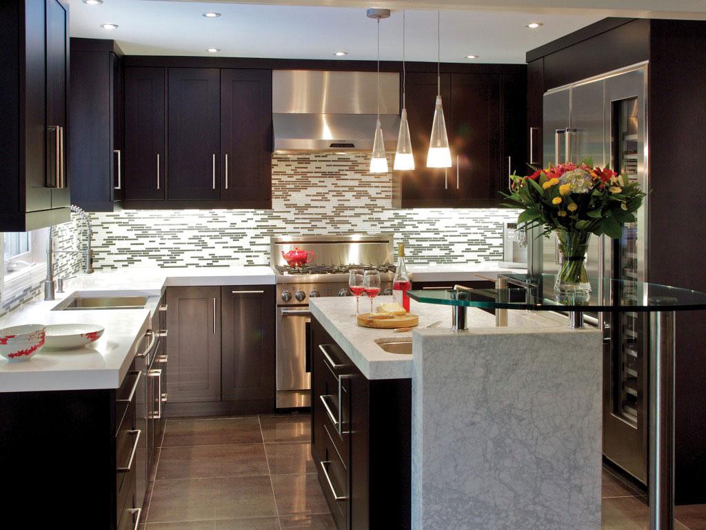 Pictures of 22 Amazing Kitchen Makeovers. InteriordesignContemporary KitchensSmall ... small modern kitchen ideas