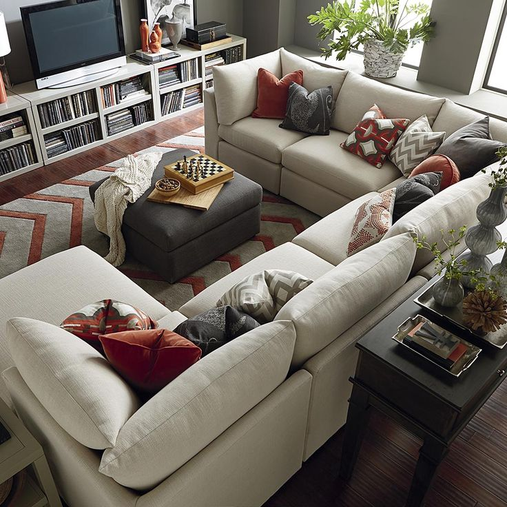 Pictures of Beckham U-Shaped Sectional u shaped sectional sofa