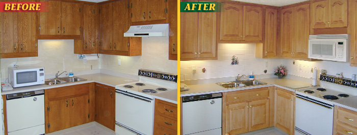 Pictures of Before u0026 After Cabinet Refacing Picture Gallery: American Wood Reface kitchen cabinet refacing before and after
