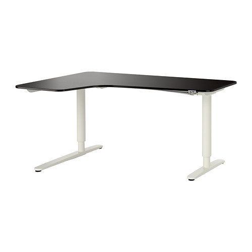 Pictures of BEKANT Corner desk left sit/stand IKEA 10-year Limited Warranty. Read about ikea sit stand desk