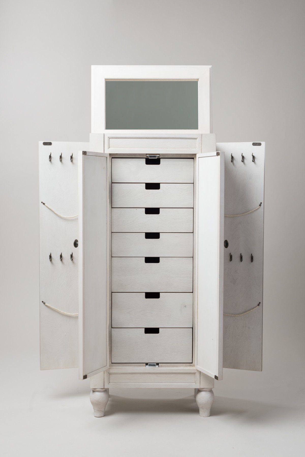 Buy a white Armoire to keep your precious items safely