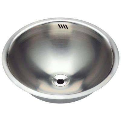 Pictures of Dualmount Bathroom Sink in Stainless Steel stainless steel bathroom sinks