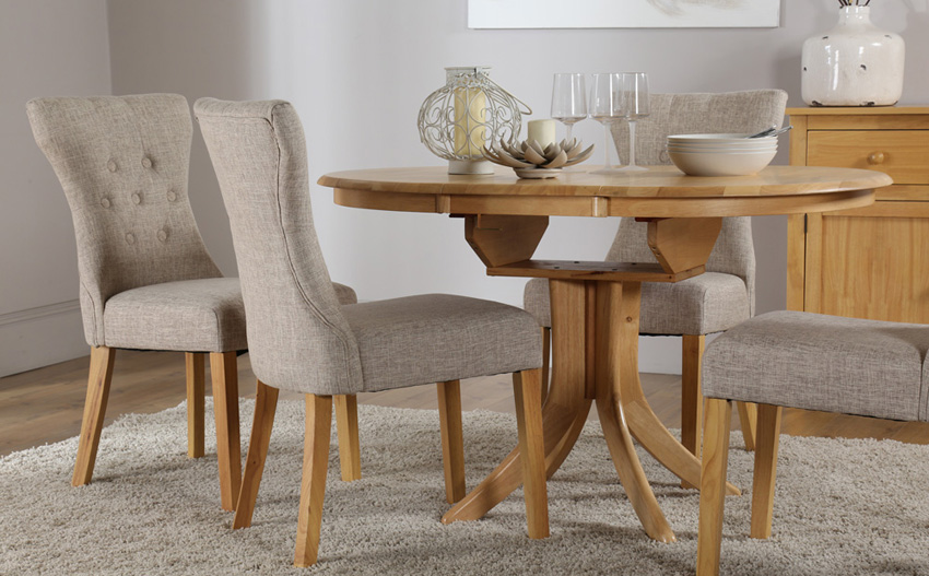 Pictures of Hudson Extending Dining Table extending dining table and 6 chairs