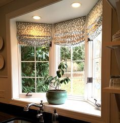 Pictures of Image result for bay window kitchen curtains kitchen bay window curtains
