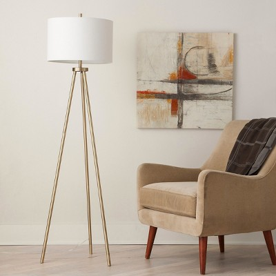 Pictures of loved ... tripod floor lamp