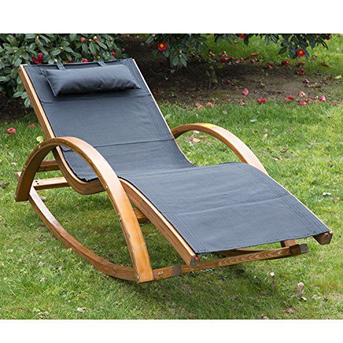 Pictures of Outsunny Outdoor Garden Patio Pool Rocking Chair Sun Lounger Bed Recliner  Rocker garden sun loungers recliners