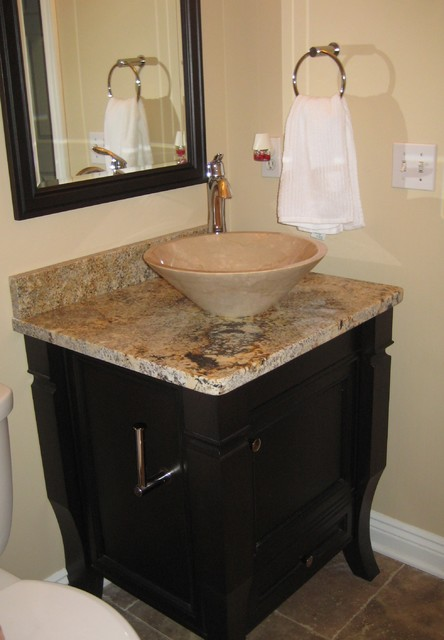 Pictures of Powder Room Vanity modern-bathroom powder room sinks and vanities