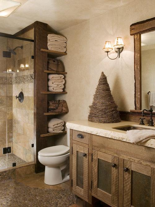 Pictures of Rustic Bathroom Design Ideas, Remodels u0026 Photos rustic bathroom decor ideas