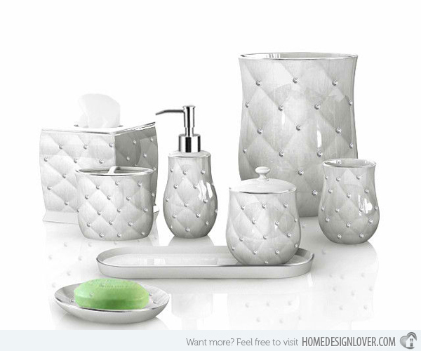 Pictures of Tridimensional Diamond Patterns. Complete Bathroom Sets unique bathroom accessories sets