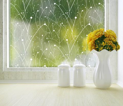 Pictures of Willow Privacy Window Film (Adhesive) modern home decor accessories