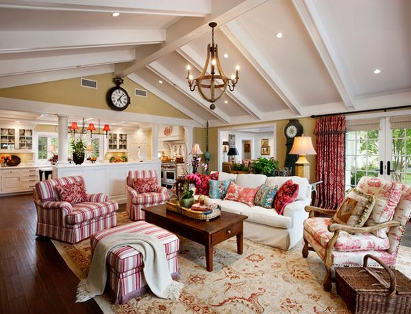 Popular 20 Dashing French Country Living Rooms country living room decorating ideas