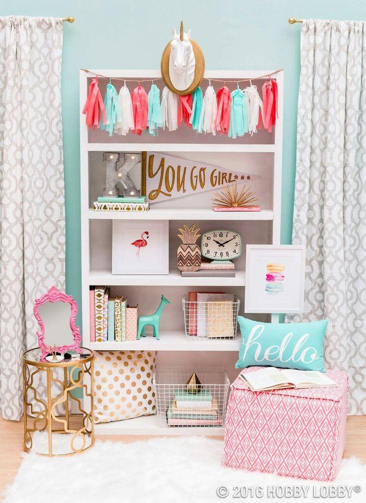 Popular 23 Stylish Teen Girlu0027s Bedroom Ideas teen girl room decor
