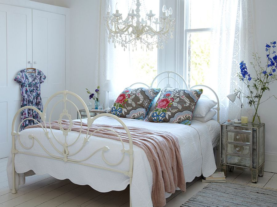 Popular 50 Delightfully Stylish and Soothing Shabby Chic Bedrooms shabby chic bedroom