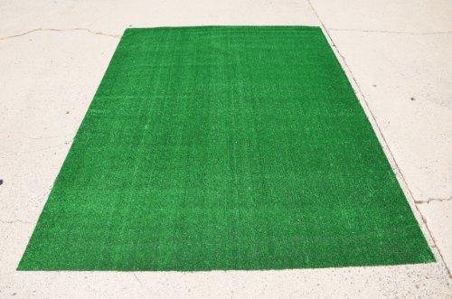 Popular Amazon.com : Indoor/Outdoor Green Artificial Grass Turf Area Rug 6u0027x8u0027 :  Football artificial grass rug