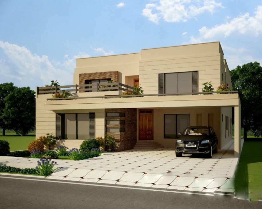 Popular Best Front House Design best front view home design
