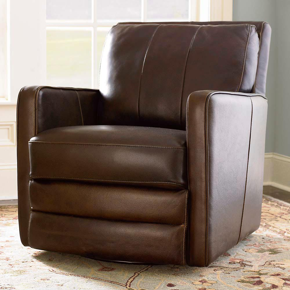 Popular Bishop Swivel Chair by Bassett Furniture. swivel leather armchair