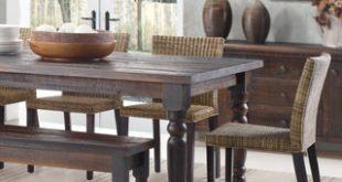 Popular Grain Wood Furniture Valerie 63-inch Solid Wood Dining Table wood dining table