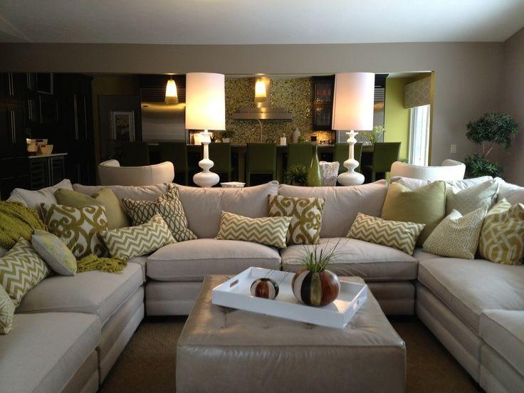 Popular Leather U Shaped Sectional Sofa. family room sectional white sofa white u shaped sectional sofa