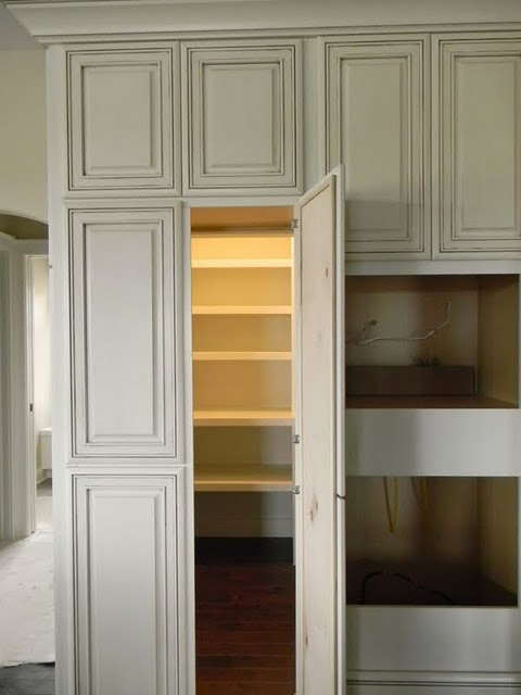 Popular Looks like a regular cabinet - itu0027s a walk in pantry. pantry cabinets with doors