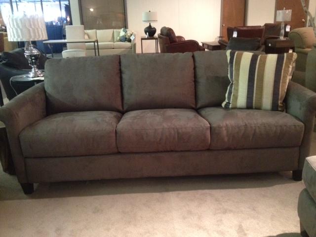 Popular Natuzzi Editions B580 Sleeper Sofa in Microfiber microfiber sleeper sofa