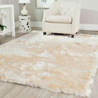 Popular Paris Shag ... white shag area rug