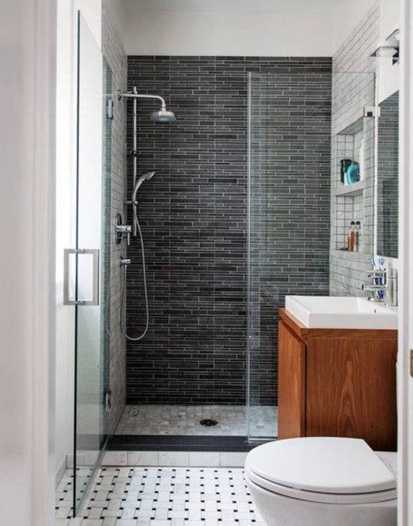Popular Quiet Simple Small Bathroom Designs | DesignArtHouse.com - Home Art, Design, simple small bathroom designs