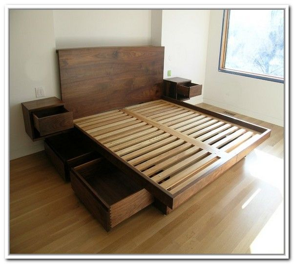 Popular Resemblance of King Platform Bed Frames Selections platform bed frame with storage