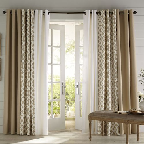 Popular Shop our curtain sets for the latest window treatments, including valance  curtains, curtain design ideas for living room