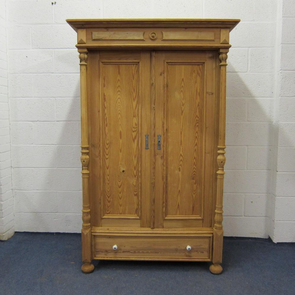 Popular small one piece antique pine wardrobe antique pine wardrobe
