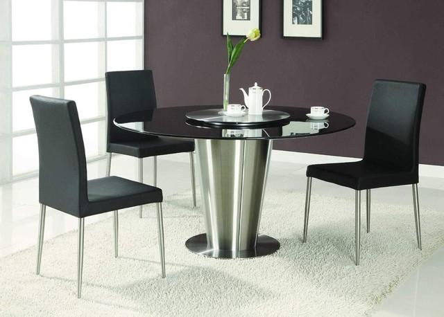 Popular Top Modern Round Dining Room Sets Round Dining Room Table Sets For modern round dining table set