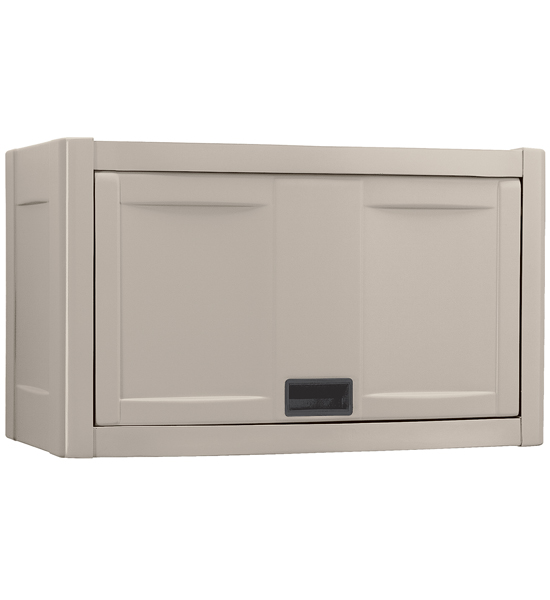 Popular Wall Mount Utility Garage Cabinet - Taupe Image wall mounted storage cabinets