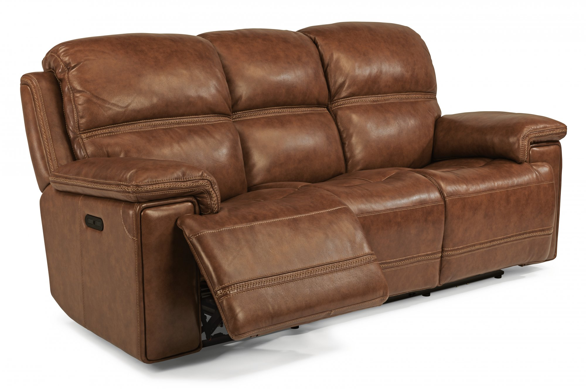 Get to Enjoy the reclining leather sofa in fort and style