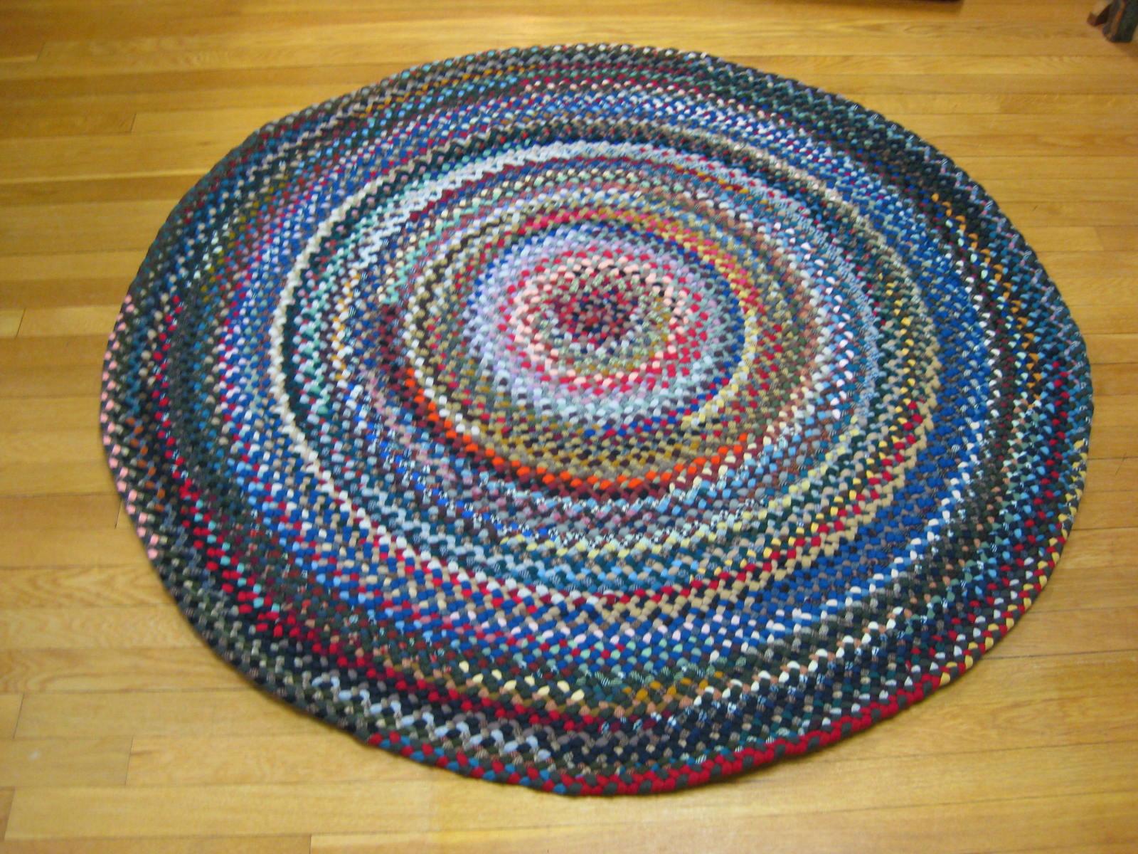 Luxury 4u00275 round braided rugs