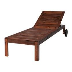 Simple ÄPPLARÖ Chaise - IKEA wood chaise lounge outdoor