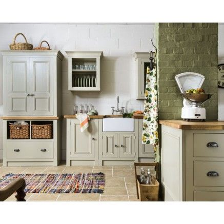 Simple Harvest Freestanding Kitchen Furniture - by the Old Creamery Furniture  company - free standing kitchen units