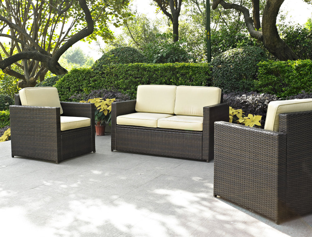 Simple Photo Gallery of the Unique and Natural Patio Look with Wicker Patio outdoor rattan furniture