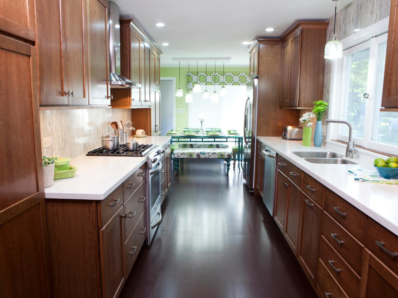 Luxury Galley Kitchen Designs small galley kitchen designs