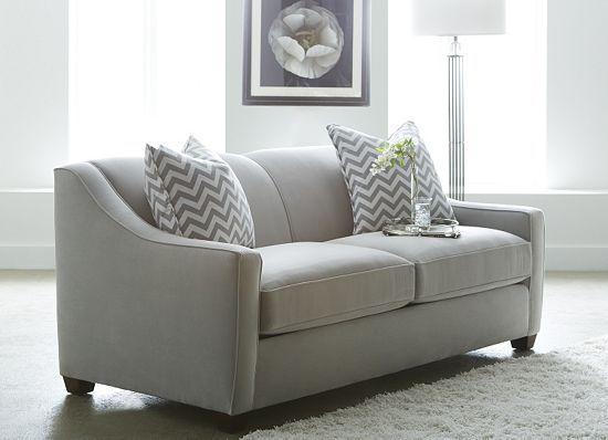 Modern I love the lines in this sofa. I donu0027t need a sleeper but small sleeper sofa
