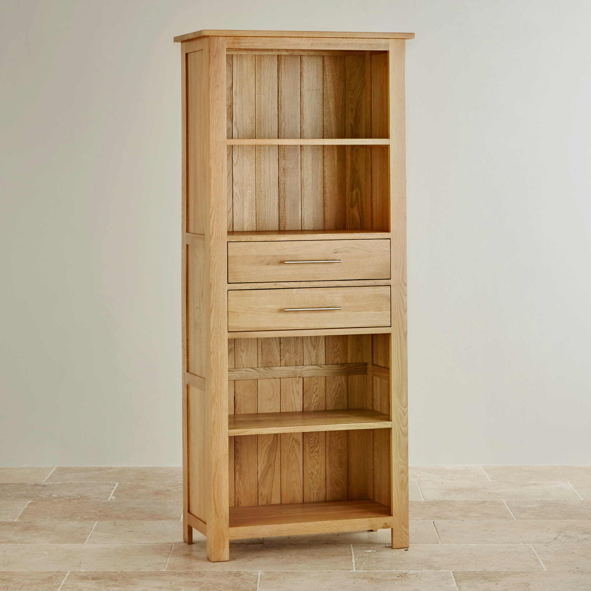 Photos of Rivermead Natural Solid Oak Bookcase solid oak bookcase