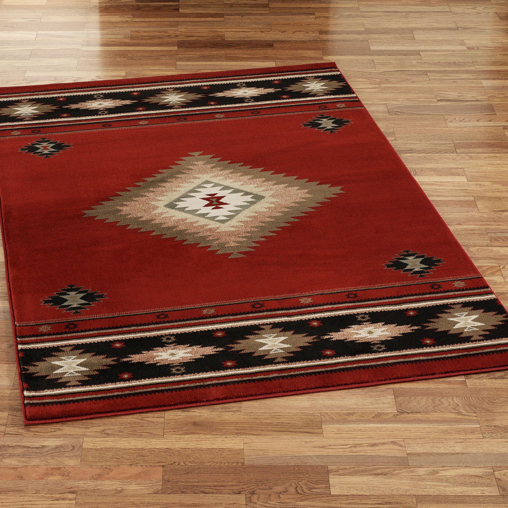 Create a luxurious look in your room with Southwestern Rugs