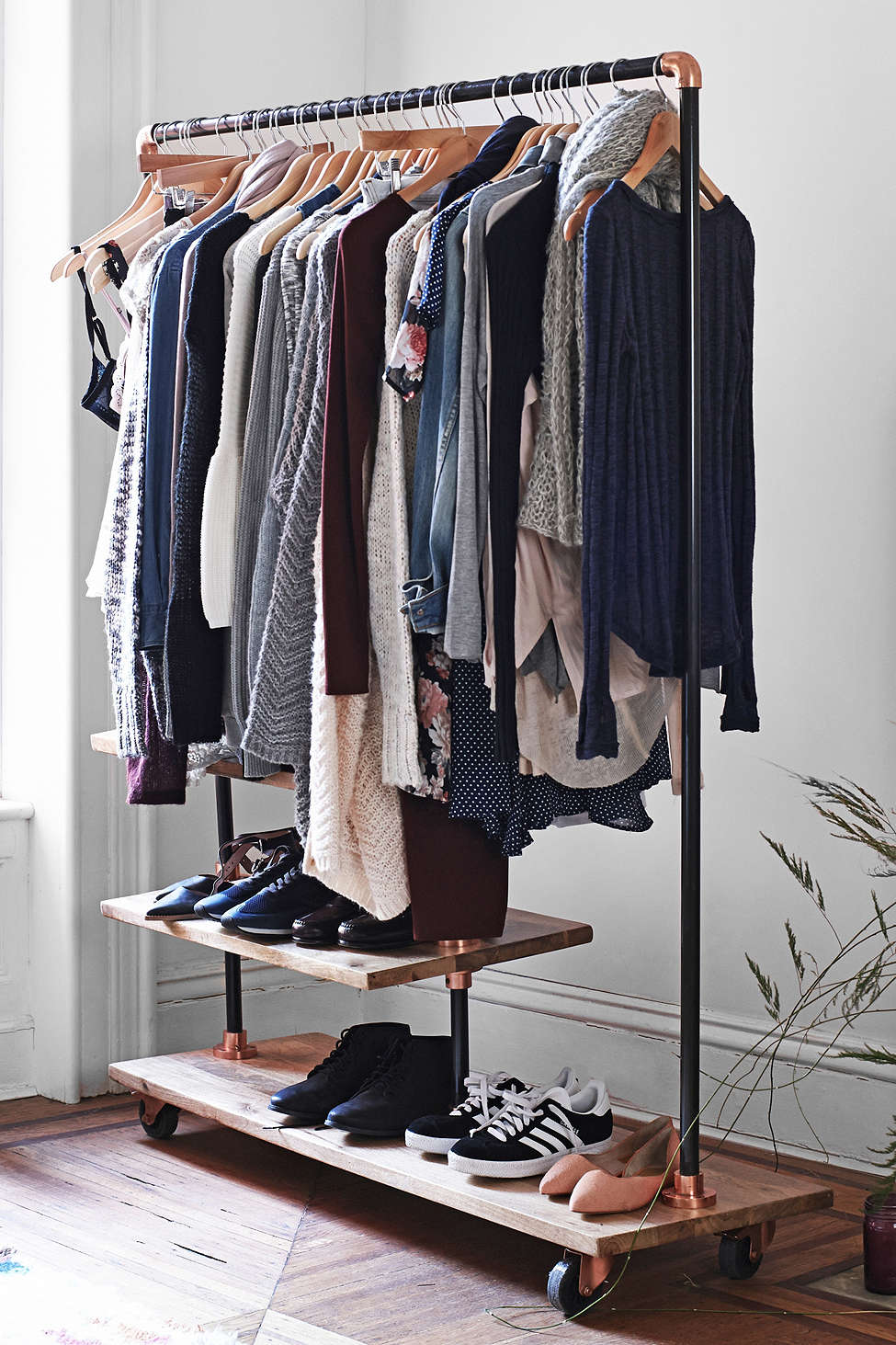Best Home Decorating Trends - Homedit storage racks for clothes