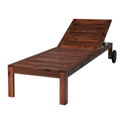 Stunning ÄPPLARÖ Chaise - IKEA wood chaise lounge outdoor
