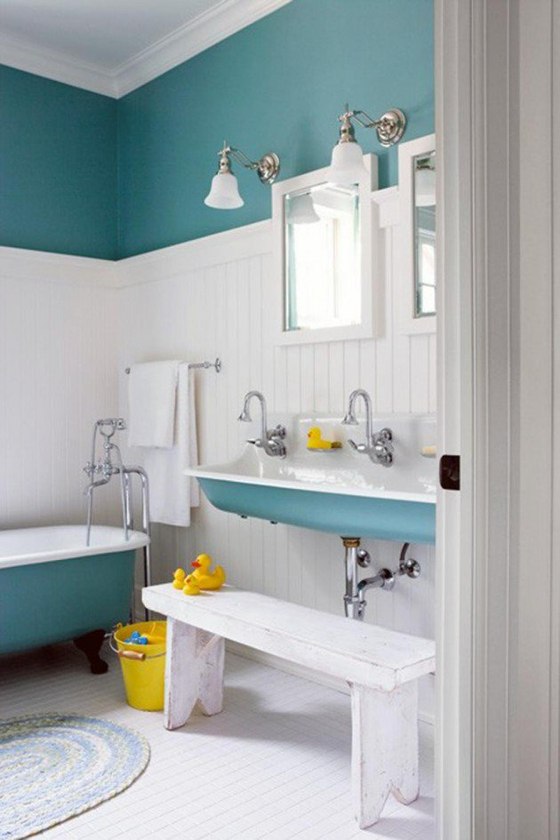 Stunning 30 Colorful and Fun Kids Bathroom Ideas kids bathroom decor ideas