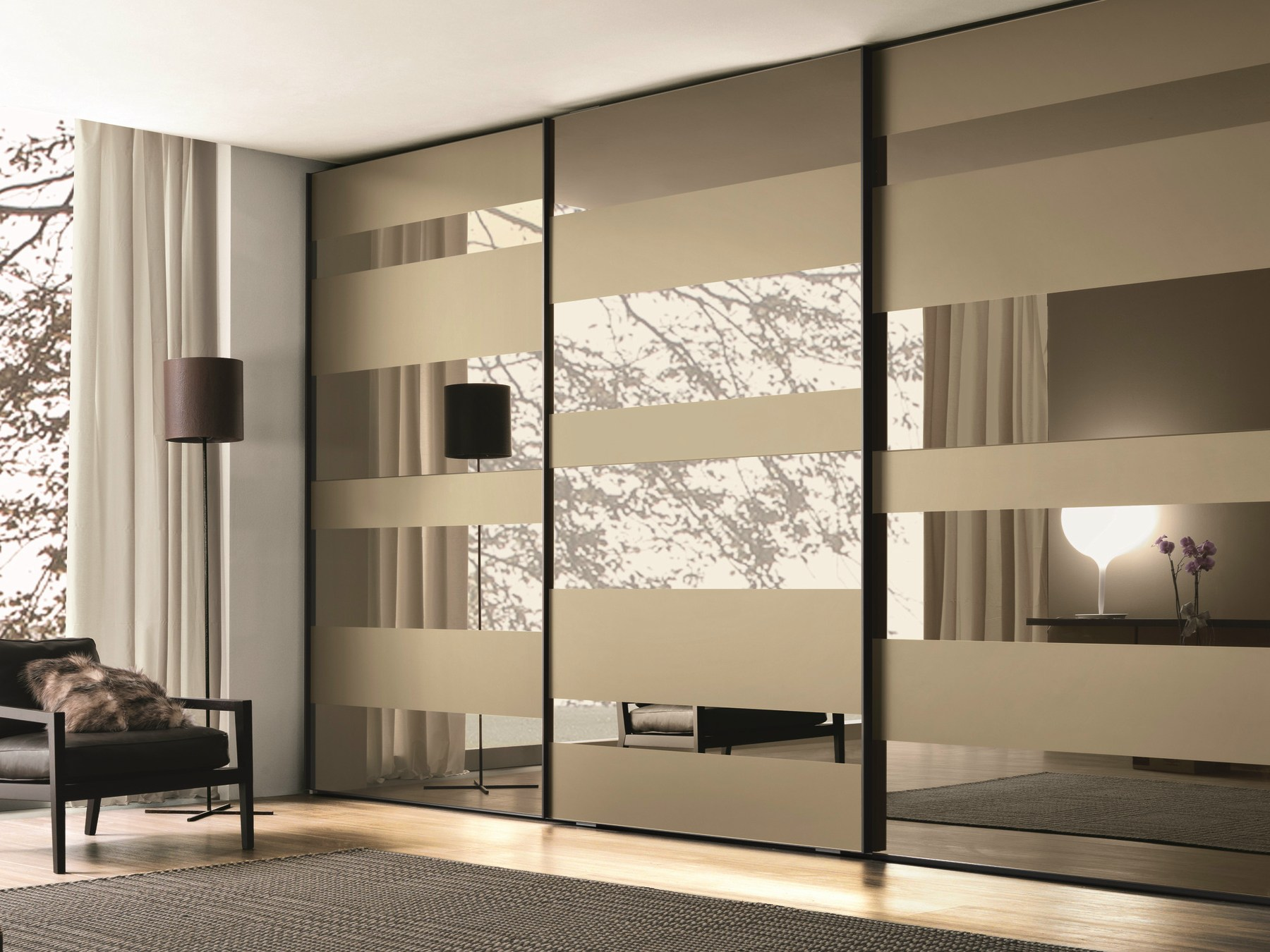 Stunning 35 Modern Wardrobe Furniture Designs | Mirror glass, Design and Wardrobe glass wardrobe designs for bedroom