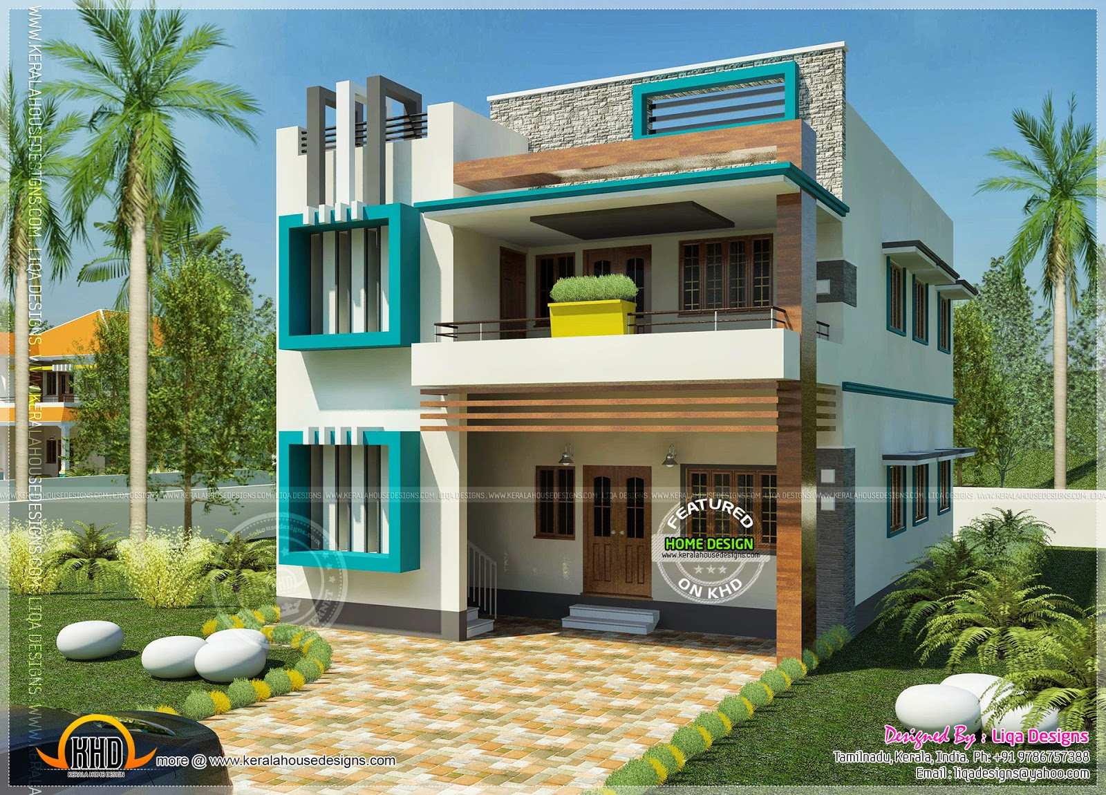 Stunning 4786 Ideas Simple House In India Modern Simple Home ... new simple home designs