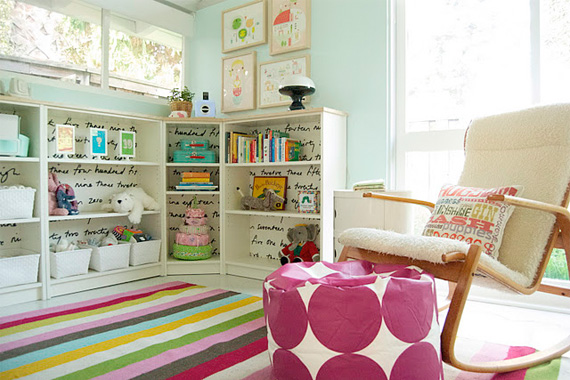 Stunning 8 Small-Space Solutions for Shared Kidsu0027 Rooms small kids room storage ideas